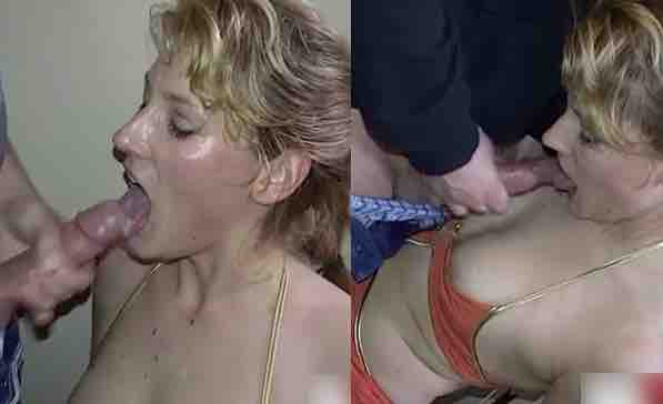 Nicole Sucks Off Many Strangers And Swallows All!